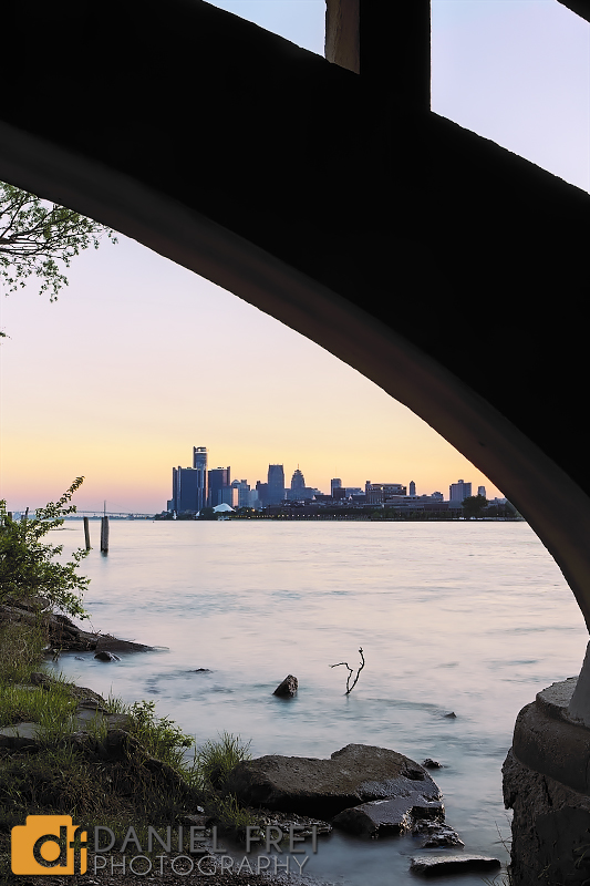 Belle Isle Under the Bridge