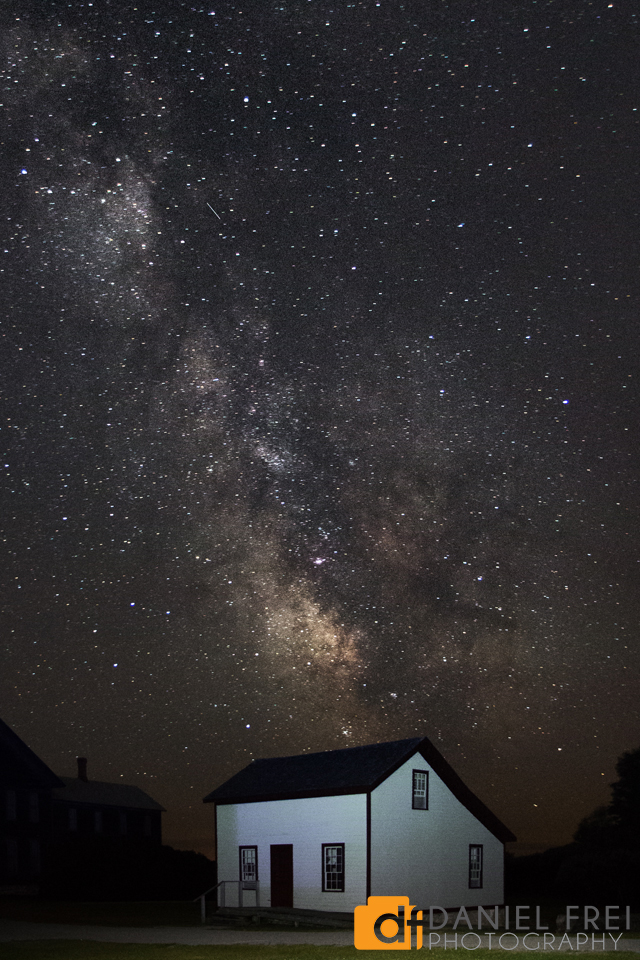 Milky Way over Fayette Ghost Town